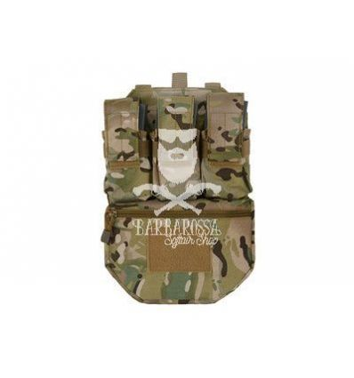 Assault Back Panel - Multicam