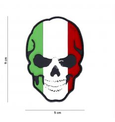 Patch Teschio Italia