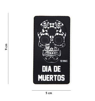 Patch Dia de Muertos - Black