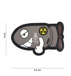 Patch Funny Torpedo - Grey