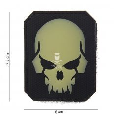 Patch PIRATESKULL Black