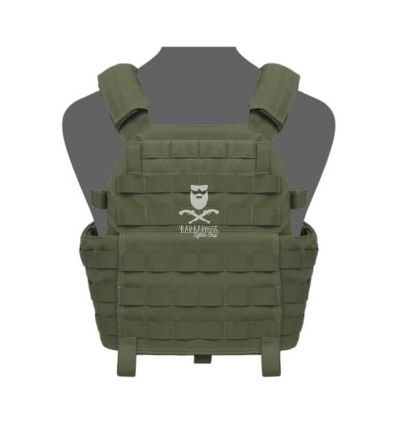 Warrior DCS Plate Carrier Base - Olive Drab