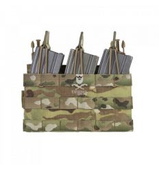 Removable Triple MOLLE Open Pouch for RPC - Multicam