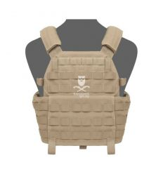 Warrior DCS Plate Carrier Base - Coyote Tan