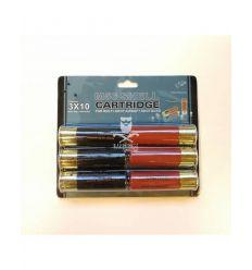 6 Cartucce Shotgun 3x10