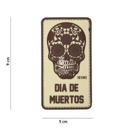 Patch Dia de Muertos - Tan