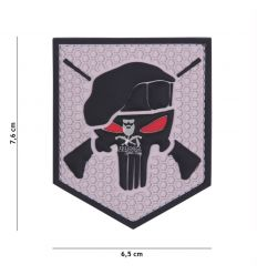 Patch Commando Punisher - Grey