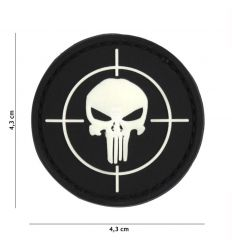 Patch Punisher - Black