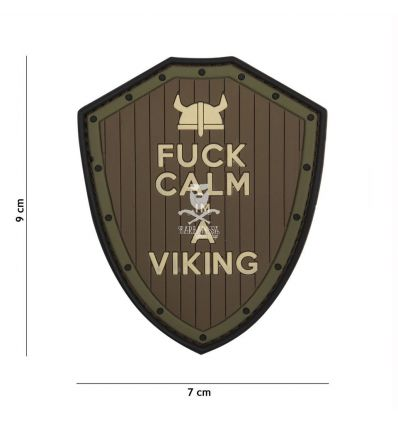 Patch Fuck Calm im a Viking