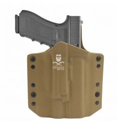 ARES Kydex Holster Glock-17/19 x300/X400 Weapon Lights - Coyote Tan