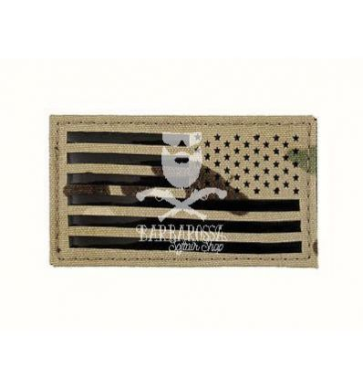 Patch Bandiera Americana IR Style Multicam - Destra