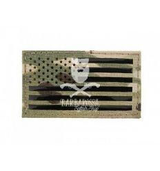 Patch Bandiera Americana IR Style Multicam - Sinistra
