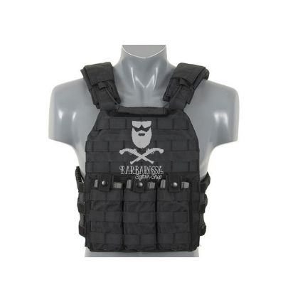 First Defense Plate Carrier - Black