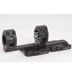 AIM Tactical Top Rail Extend 25.4 - 30mm Ring Mount - BK