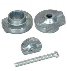 Fondello Alluminio per Tubo Calcio M4