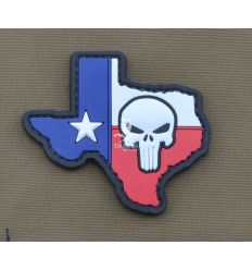 Patch Texas Skull Stato