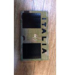 Patch Bandiera Italia - IR Infrarosso - Multicam