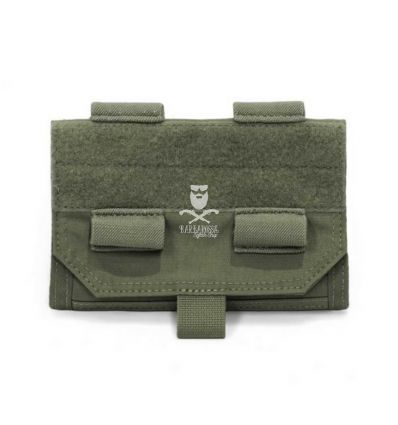 Warrior Forward Opening Admin Pouch - OD