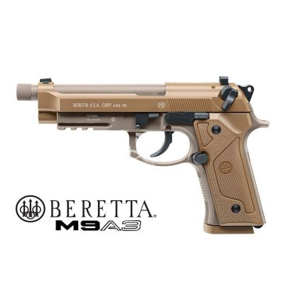 Umarex Beretta M9A3 Military Co2 FDE Blow-Back