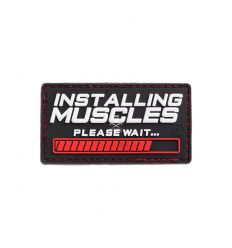 Patch Installing Muscles Rubber