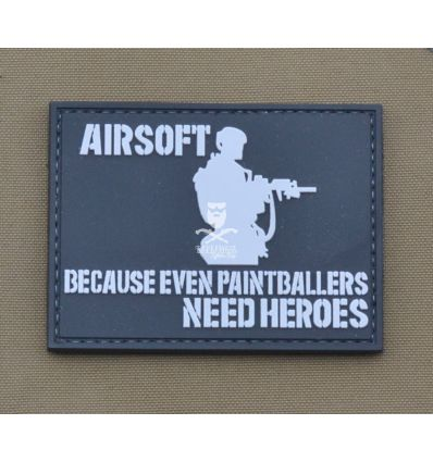 Patch Airsoft - Heroes