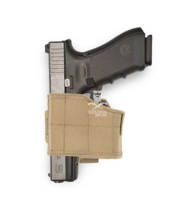 Warrior Universal Pistol Holster Left Hand - Coyote