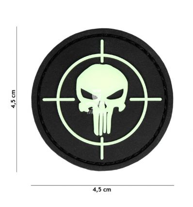 Patch Punisher - Glow in the dark
