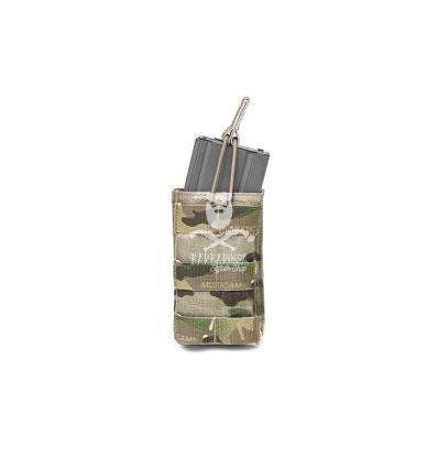 Warrior Single Open 5.56MM Multicam