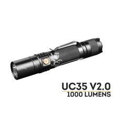 Fenix Torcia UC35 V2.0 LED Ricaricabile - 1000 Lumens