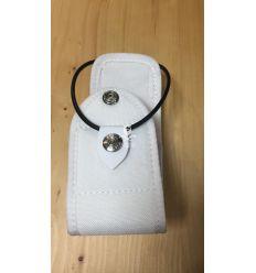 Porta radio in Cordura Universale - Bianco