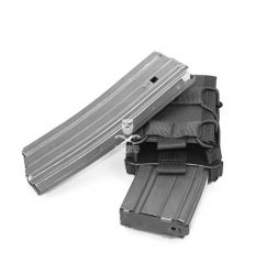 Warrior Double Quick Mag Black