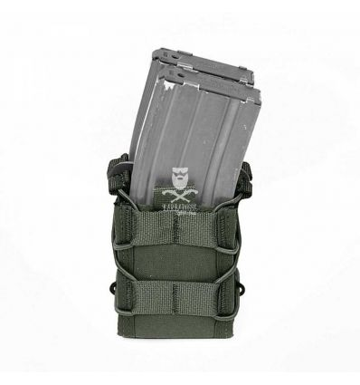 Warrior Double Quick Mag Od Green