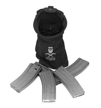 Warrior Slimline Foldable Dump Black