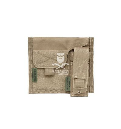 Warrior Large Admin Panel With Pouch Coyote TAN