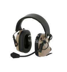 Earmor M32 MOD1 Electronic Communication Hearing Protector - Tan