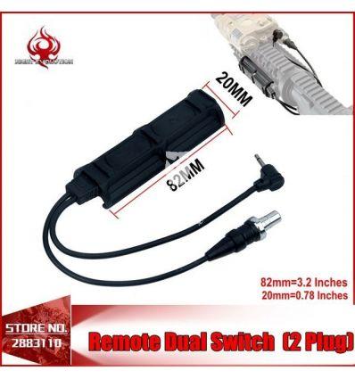 Night Evolution Remote Dual Switch 2-Plug