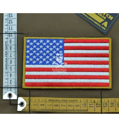 Patch ricamata 'Bandiera USA Grande'