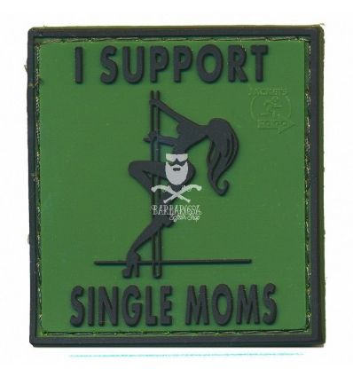 Patch 3D I support single mom - OD