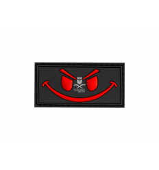 Patch Evil Smile - Red
