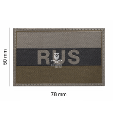 Patch Russia Flag Ral7013 - Clawgear