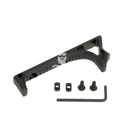 Multi-Functional Angled Foregrip/Handstop for M-LOK Handguard - Black