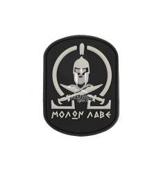 Patch Molon Labe Spartan - Black