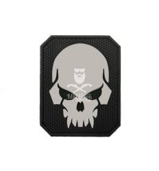 Patch PIRATESKULL - Black