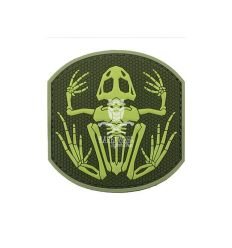 Patch Frog Skeleton (OD/Green)