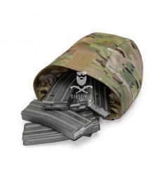 Warrior Roll Up Dump Pouch Multicam