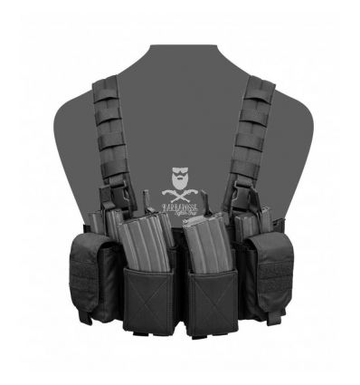 Warrior Pathfinder Chest Rig - Black
