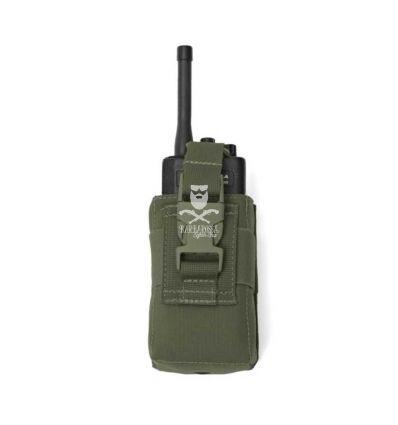 Warrior Adjustable Radio Pouch - OD