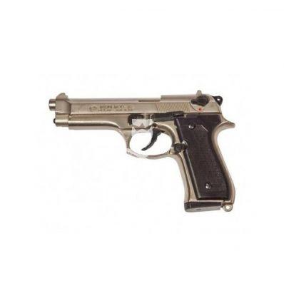 Bruni Beretta 92F a Salve 8mm - Nikel