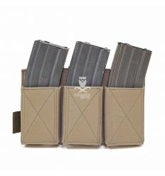 Warrior Triple Elastic Mag Pouch - Coyote Tan