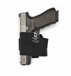 Warrior Universal Pistol Holster Left Hand - Black